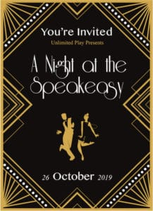 A Night at the Speakeasy on October 26 2019