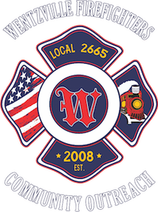 Wentzville Firefighters Community Outreach Logo